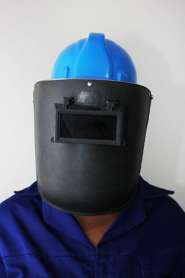 Safety cap welding helmet combo