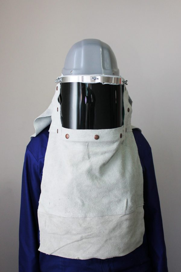 Tappers helmet leather
