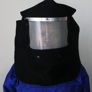 Woolen helmet