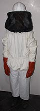 Beekeepers veil Jacket Trousers + Gloves