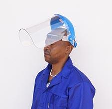 Browguard cw 3mm clear or green visor