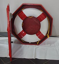Life buoy cabinet