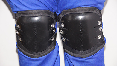 Padded knee pad