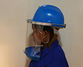 Splash guard cw 1mm or 3mm visor