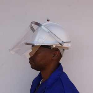 cap attachment with 1mm visor